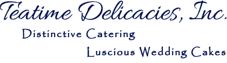 teatime catering banner